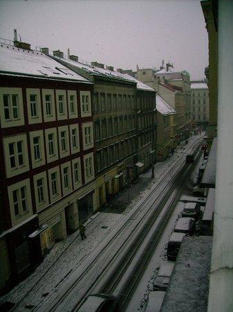 Hotel Kugel: vista da janela do quarto