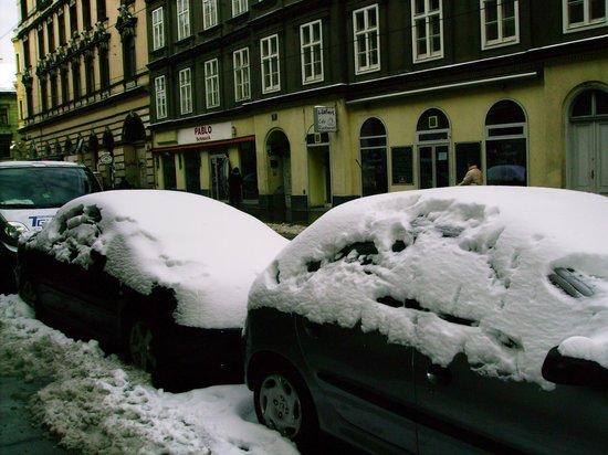 Hotel Kugel: dia de nevasca!