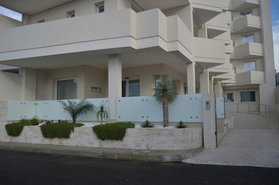 Quihotel : esterno ingresso hotel
