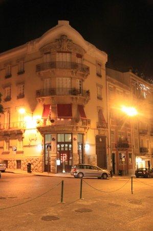 Hotel Real Palacio: l'hôtel éclairé
