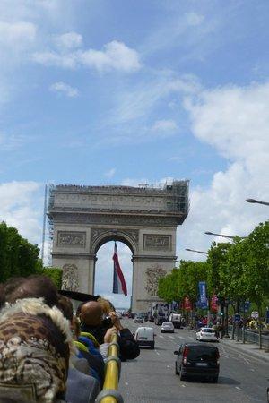 Open Tour Paris : Arc du Triomphe