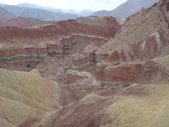 Quebrada del Rio de las Conchas: La yesera