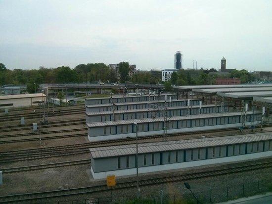 Ibis Budget Krakow Stare Miasto: Utsikten från femte våningen