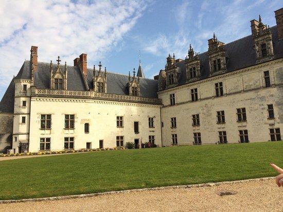 Chateau d'Amboise: il cortile