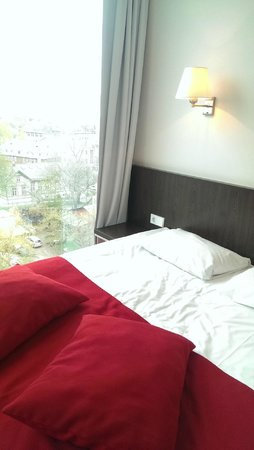 Park Inn by Radisson Meriton Conference & Spa Hotel Tallinn: Bed