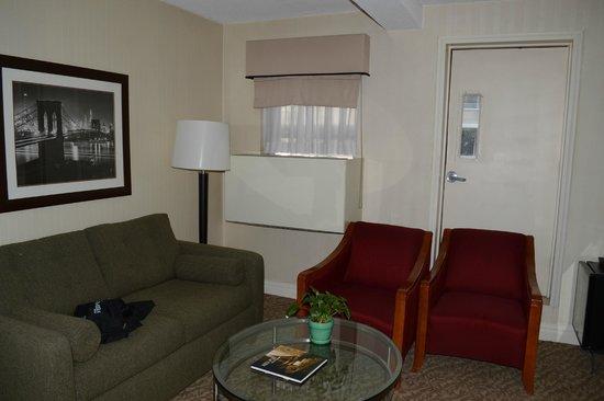 San Carlos Hotel: Sofá cama