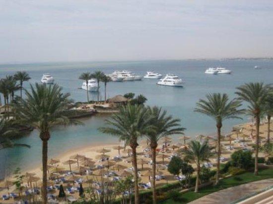 Hurghada Marriott Beach Resort : Вид с балкона