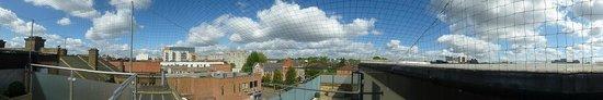 Best Western Maitrise Suites Apartment Hotel: vue depuis terrasse