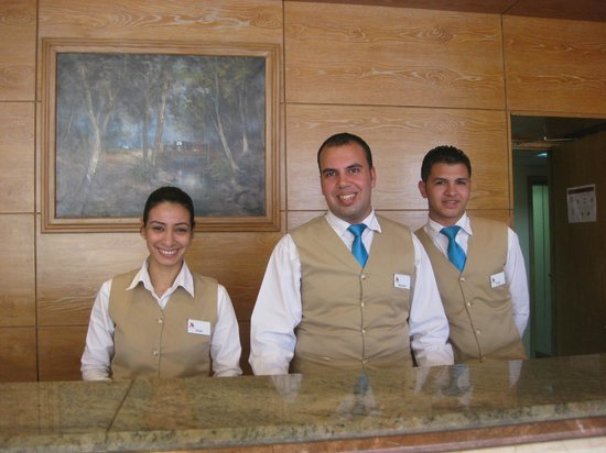 Hurghada Marriott Beach Resort: На ресепшен
