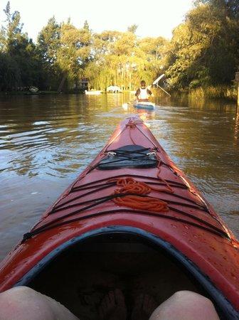 El Dorado Kayak : Salió el sol!