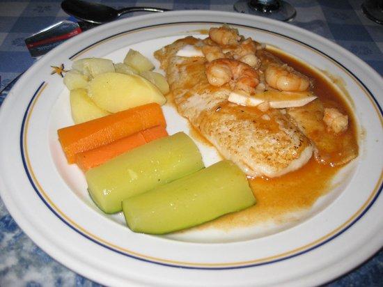 Iberostar Costa Dorada : grouper at International Restaurant