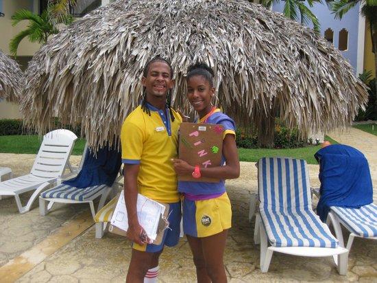 Iberostar Costa Dorada : Tekila and Pinky