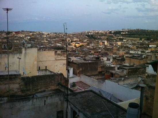 Riad Rcif : View from roof terrace