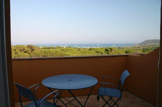 Hotel les Bouis: Room terrace