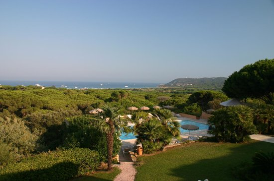 Hotel les Bouis: Room with a View