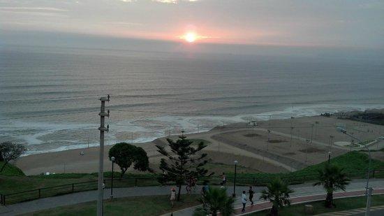 Hotel Sunset Mar : Puesta de sol en Lima - Sunsetmar Hotel