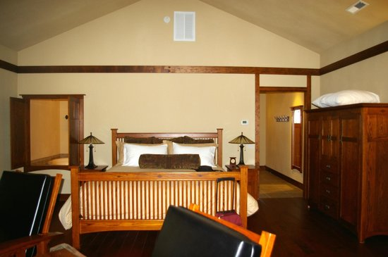 Five Pine Lodge & Spa: Lots of room