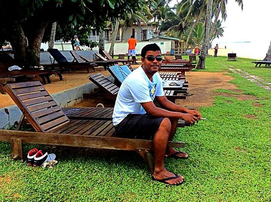 Citrus Hikkaduwa: view from the beach side  and