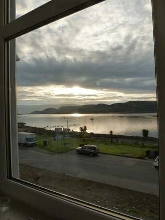 The Royal an Lochan: Cloudy sunrise