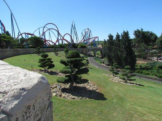 PortAventura Park: Порт Авентура. аттракцион Шамбала