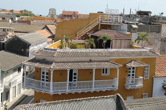 Hotel Don Pedro de Heredia : Vista desde el solarium
