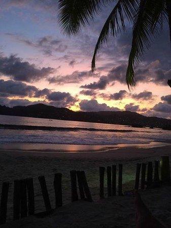 Villa del Sol Resort: View from beach palapa