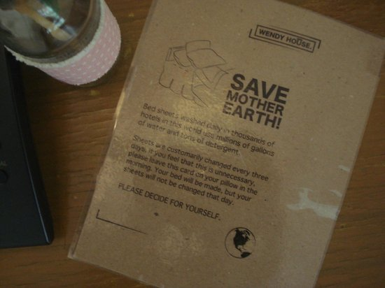 Wendy House: save mother earth - i love that