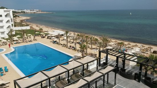 Radisson Blu Resort & Thalasso : вид из номера