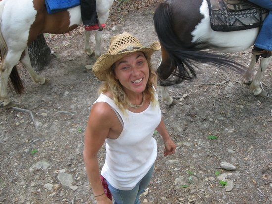 Riverside Riding Stables : Our guide Tammy