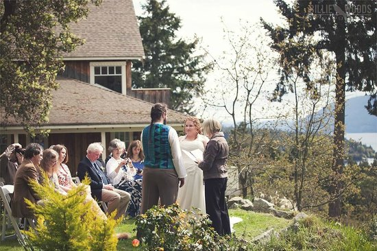 Quarrystone House Bed & Breakfast: wedding