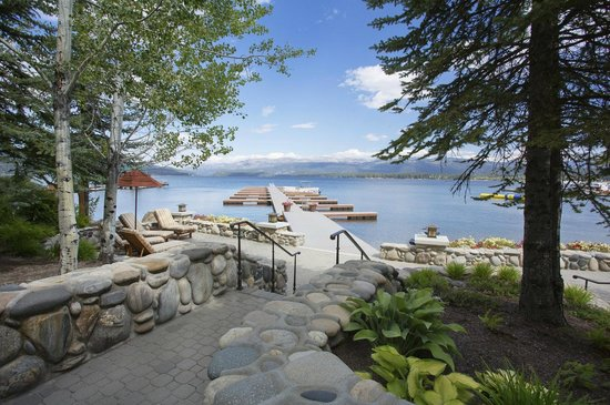 Shore Lodge : Payette Lake from the docks