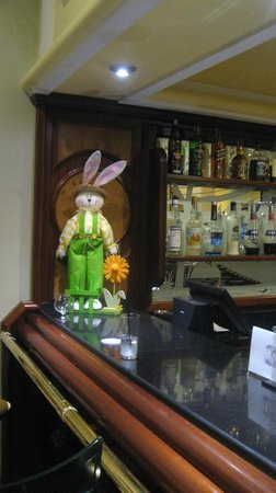 Hotel Riu Palace Madeira: Easter reception decorations.