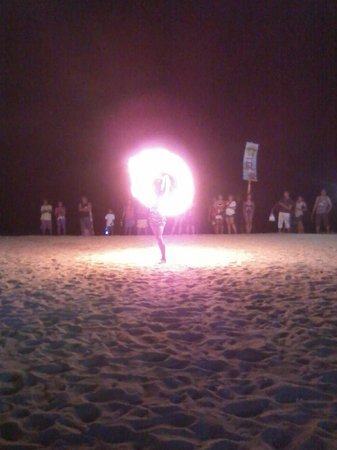 White Beach: Fire Dancer at Nikko Bar