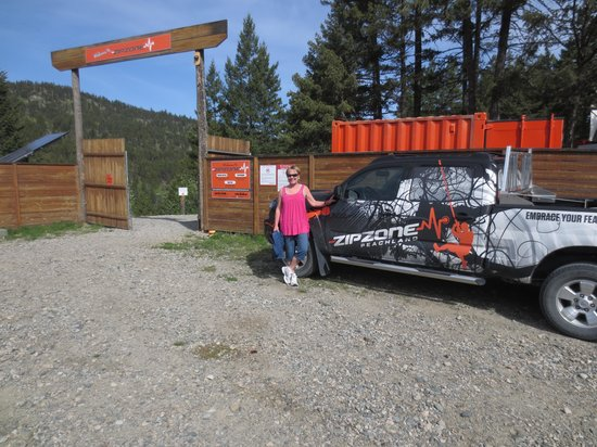 ZipZone Peachland: The backward launch