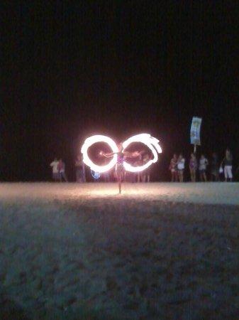 White Beach: Fire Dancer Butterfly