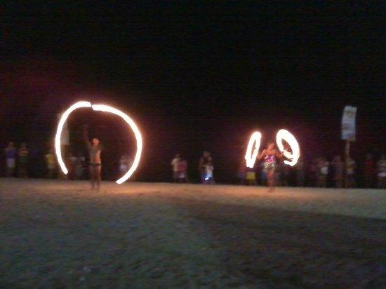 White Beach: Fire Dancing infront of Nikko Bar