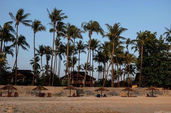 Amazing Ngapali Resort: Vue de l'hôtel