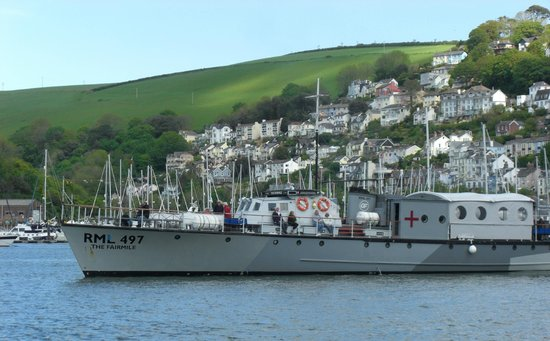 Greenway Ferry & River Boat Cruises : Greenway Ferries Fairmile RML at Dartmouth
