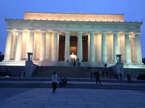 Lincoln Memorial et Reflecting Pool : Lado de Fora