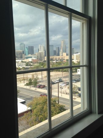 NYLO Dallas South Side: View from our room