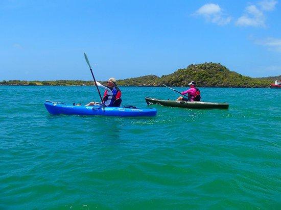 Conservation Kayak: Off we go