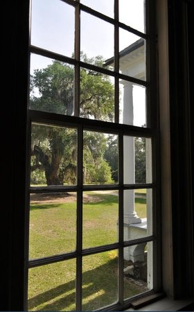 Hampton Plantation State Historic Site: view out from window