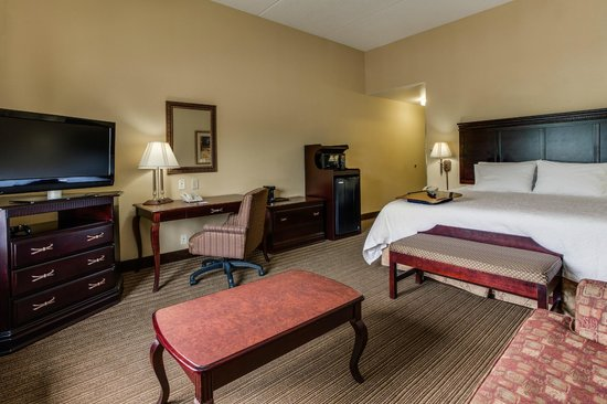 Hampton Inn Bennington : King with Walk-in Shower