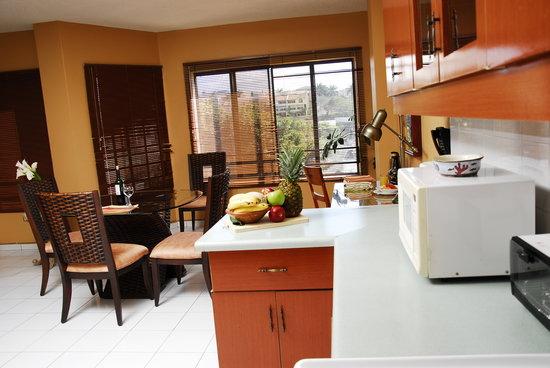 Aparthotel Guijarros: Cocina de Apartamentos