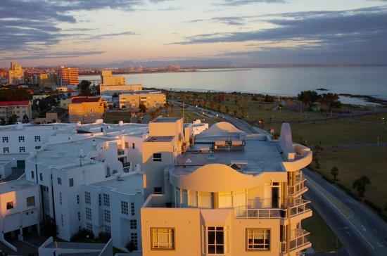 Radisson Blu Hotel, Port Elizabeth: Blick Richtung Norden