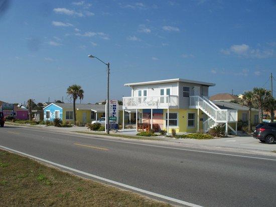 Main building at the Flagler Beach Motel.