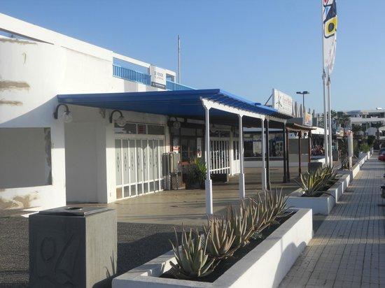 Club Pocillos: near the complex