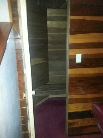 Cove Haven Resort: Sauna inside our room... it was on the main floor in the same room as the pool