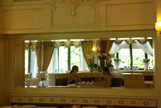 Hotel Villa Franceschi : Speisesaal Haupthaus