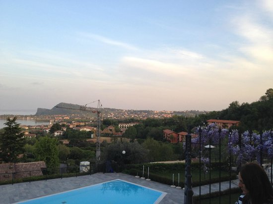 Hotel Belvedere : veduta dalla terrazza
